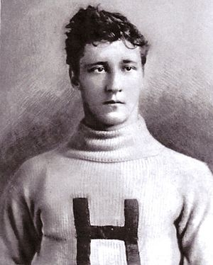 1893 College Football All-America Team - Marshall Newell of Harvard