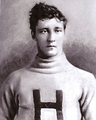 "1890 College Football All-America Team - Harvard tackle ""Ma"" Newell was run over by a railroad engine on Christmas Eve 1897."