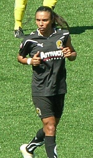 Marta (footballer) - Marta at 2010 WPS Championship