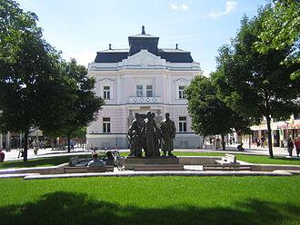 Martin, Slovakia - City centre.
