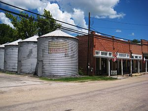 Martindale, Texas - Downtown Martindale.