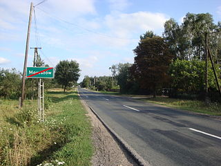Maruszów, Masovian Voivodeship Village in Masovian Voivodeship, Poland