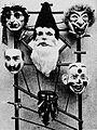 Masques en carton et loup 1922.jpg