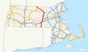 Massachusetts Route 12 - Image: Massachusetts Route 12