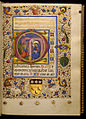 Master of Isabella di Chiaromonte - Leaf from Book of Hours - Walters W3289R - Open Obverse.jpg