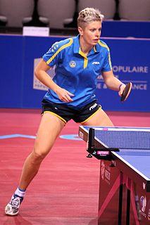 Matilda Ekholm Swedish table tennis player