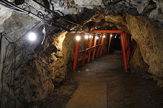 Matsushiro Underground Imperial Headquarters - A view of the caves