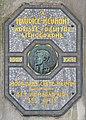 Maurice Neumont plaque - 1 Place du Calvaire, Paris 18.jpg