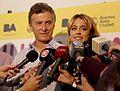 Mauricio Macri and Martina Stoessel, May 2014 02.jpg