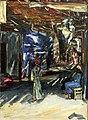 Max Slevogt - Bazar in Assuan I.jpg