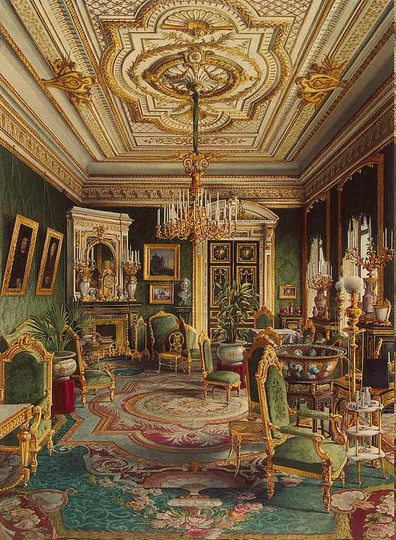 Castle Drawing Room: Palace Of Count P.S.Stroganov