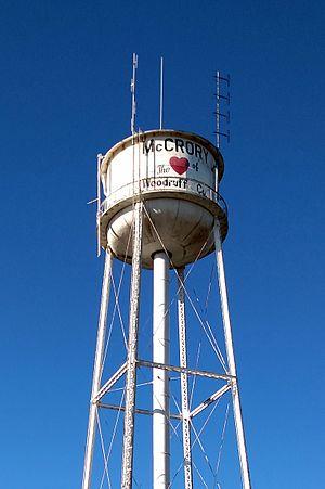 McCrory Waterworks - Image: Mc Crory, AR 009