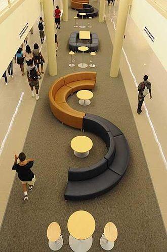 McMillen High School - The main hallway of McMillen.