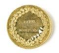 Medalj, förgyllt silver - Skoklosters slott - 109556.tif