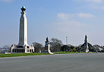 Memorials on Plymouth Hoe.jpg