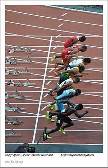 100 m männer