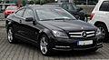 Mercedes-Benz C 180 BlueEFFICIENCY Coupé (C 204) – Frontansicht (1), 10. Juli 2011, Velbert.jpg
