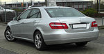 Mercedes-Benz E 200 CDI BlueEFFICIENCY Avantgarde (W 212) rear 20110115.jpg