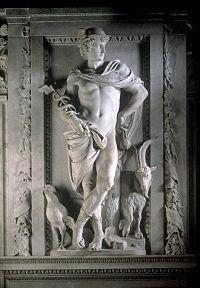 17th century depiction of Mercury