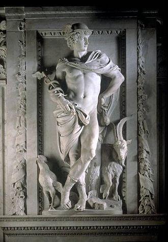 Artus Quellinus the Elder - Mercury, Amsterdam city hall