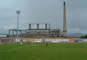 2016–17 Scottish League One - Image: Methil power station