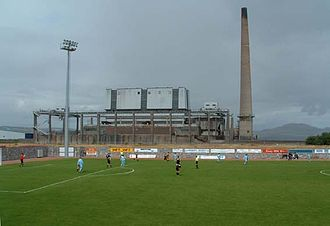 2017–18 Scottish League One - Image: Methil power station
