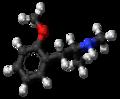 Methoxyphenamine molecule ball.png