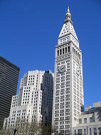 Metropolitan life insurance company tower wikipedia for House under construction insurance