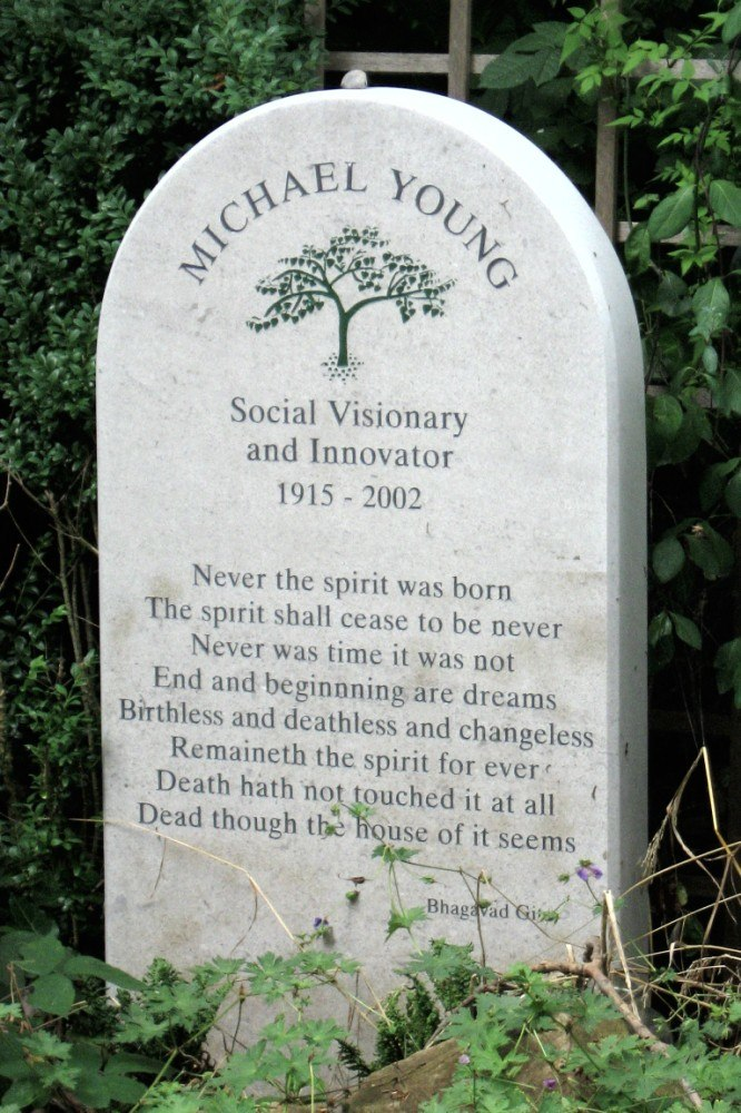 Michael Young (1915-2002) -Highgate Cemetery-10Aug2008