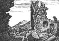 Michaelskloster von Charles de Graimberg 1814.png