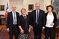 Michelle Bachelet, se reunió con Walter Veltroni, líder del Partido Democrático de Italia y ex alcalde de Roma entre 2001 y 2008 (16291645441).jpg