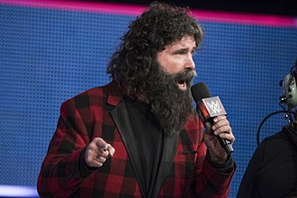Mick Foley - Foley at Tribute to the Troops in December 2016