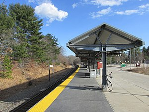 Middleborough-Lakeville MBTA station, Lakeville MA.jpg