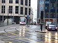 Midland Metro extension - tram 20 - Urbos 3 - Colmore Circus Queensway (23619784211).jpg