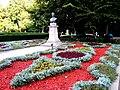 Mihai Eminescu's bust in Copou Garden 1.jpg