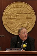 Mike Chenault at Speaker's Chair.jpg
