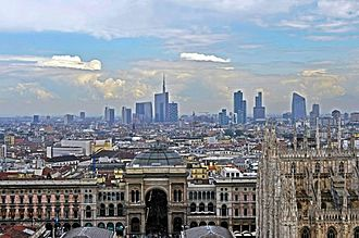 Metropolitan City of Milan - Milan's skyline