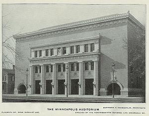 Minneapolis Auditorium - Minneapolis Auditorium