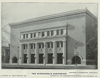 Minneapolis Auditorium - Minneapolis Auditorium