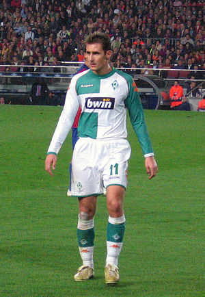 Miroslav Klose - Miroslav Klose at Werder Bremen