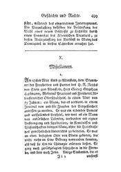 Miscellaneen, S. 499-512