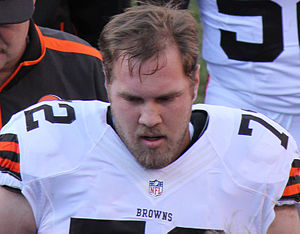 Mitchell Schwartz - Schwartz with the Cleveland Browns