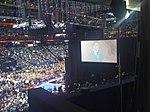 Mitt Romney's speech; Behind the Stage at RNC (2827938405).jpg