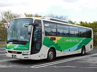 Mitsubishi Fuso Aero Bus - Image: Miyagi kotsu 1835