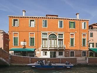Amedeo Modigliani - His home in Venice.