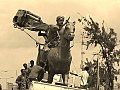 Mohammed Abdullah Hassan's statue been removed from the Somali capital after the Siad Barre fled .jpg