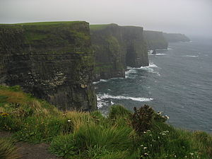 Moher Tower - Image: Moher Tower in background