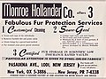 Monroe Hollender, fur cleaning, New York (advertising 1963).jpg