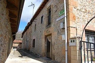 Monterrubio de la Demanda municipality in Castile and León, Spain