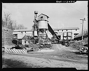 Pittsburgh Coal Company - Montour No. 4 Mine in Washington County, Pennsylvania.
